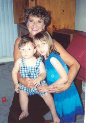 Carole with 2 of her grandchildren